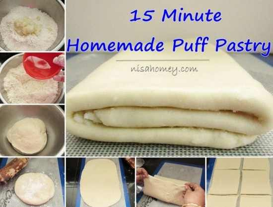 Puff Pastry doesn't have to be complicated! It's easy to make your own in just 10 minutes once you know the secrets. This recipe will become a favourite 'Go To' recipe and is perfect for both sweet or savoury recipes. Nothing tastes better than homemade and you know exactly what it's made from. Scroll down …