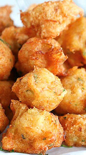 Salt Cod Fish Fritters