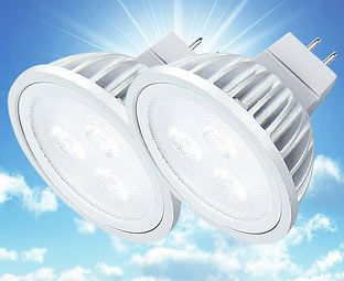 Expert Verdict LED Spot Bulbs, MR16, (2) An energy-saving alternative to traditional ceiling spots, these downlighters are fitted with LEDs which should last 30,000 hours. That's 30 times longer than an equivalent incandescent bulb – about 2 http://www.MightGet.com/january-2017-11/expert-verdict-led-spot-bulbs-mr16--2-.asp
