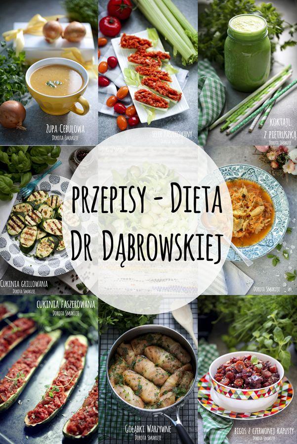 Dieta dr Dąbrowskiej - przepisy