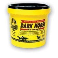NU-IMAGE DARK HORSE, Size: 5 POUND (Catalog Category: Equine Supplements:SUPPLEMENTS) by RICHDEL INC. $51.76. Specially formulated to enhance and shine coats, manes & tails on brown, bay and black horses. Helps prevent that washed out reddish-orange coat and brings out the essence in your horse s natural color. Balanced profile of omega-3 and omega-6 fatty acids. Contains key amino acids lysine and methionine. B-vitamin package with high biotin and vitamin b6, copper...