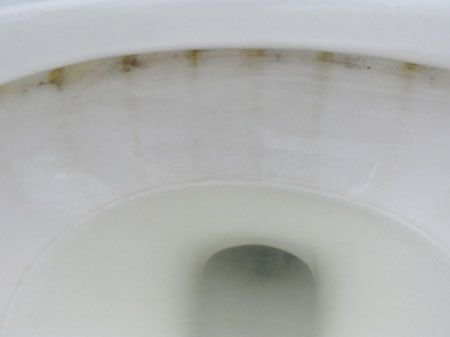 I receive plenty of enquiries from readers who have a problem with stains in their toilet or old porcelain tubs and hand basins. Mostly caused by hard water and metals, these stains are impossible to remove with supermarket-bought cleaners. Don't despair, there is a solution that works. The first time I tried this method I was afraid that I would ruin my toilet, but it really works. It requires no chemicals, only a bit of elbow grease. http://www.home-dzine.co.za/Lifestyle/life-pummice.htm#