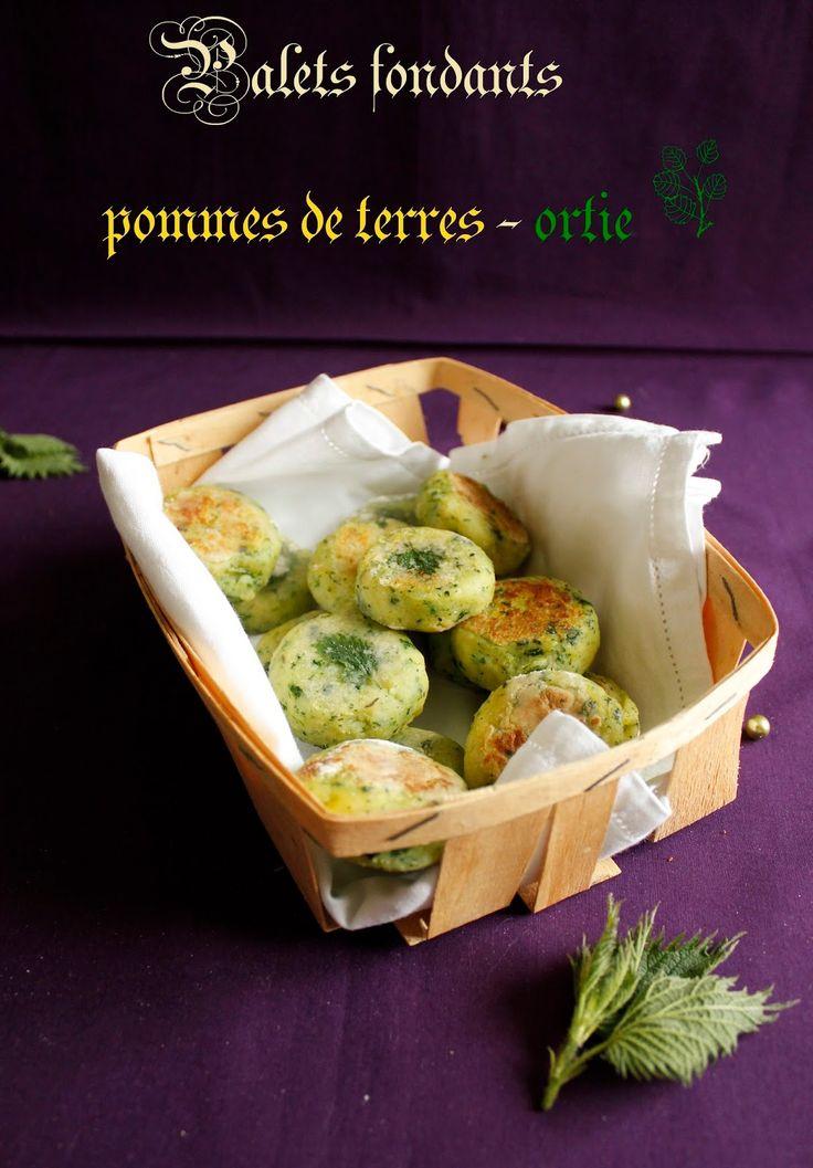 croquettes pommes de terre ortie - ORTIE – Edition n°6 du Carnaval « Des Blogs Et Des Plantes »