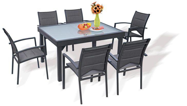 jardin leclerc table salon jardin