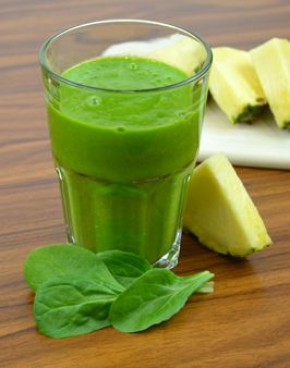 FELDSALAT-SPINAT-SMOOTHIE MIT MANGO UND ANANAS - Zutaten für 1 Person: 50g Feldsalat, 50g Spinat, 1 Mango, ¼ Ananas, 100 ml Orangensaft. Hier geht's zur Zubereitung: http://behr-ag.com/de/unsere-rezepte/rezeptdetail/recipe/gemuese-smoothie-mit.html  1 TL Olivenöl
