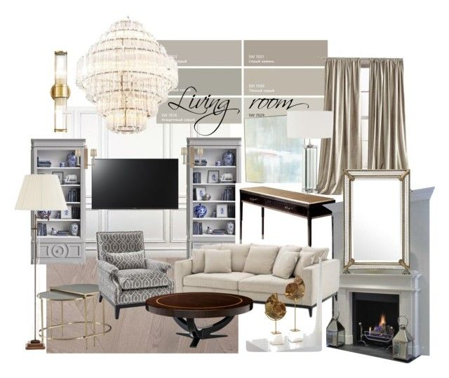 ZR living by naala-art on Polyvore featuring polyvore, interior, interiors, interior design, дом, home decor, interior decorating, DKNY, John-Richard, Umberto, Eichholtz and Sony
