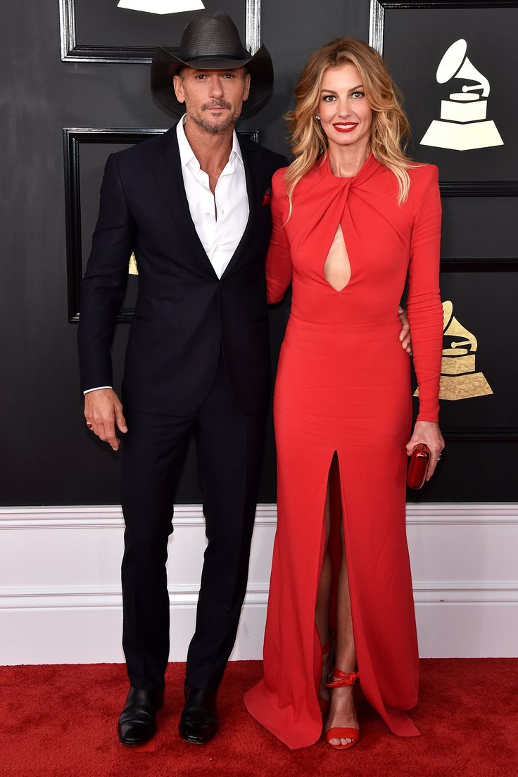 The Cutest Couples On The Grammys Red Carpet+#refinery29
