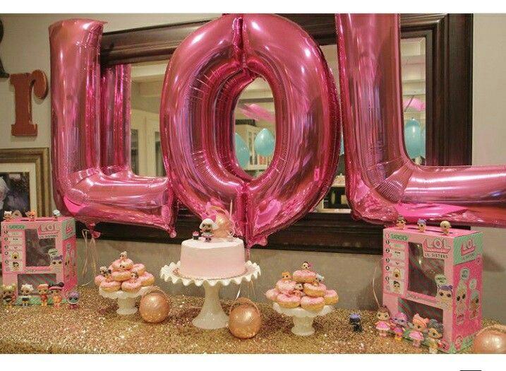 Lol Surprise dolls birthday party ideas.
