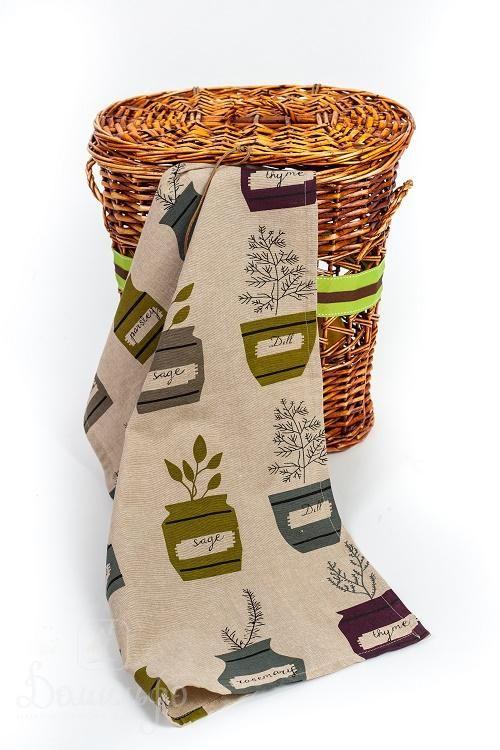 Полотенце для кухни ПРЯНЫЕ ТРАВЫ 45х70 от Arloni (Индия) - купить по низкой цене в интернет магазине Домильфо