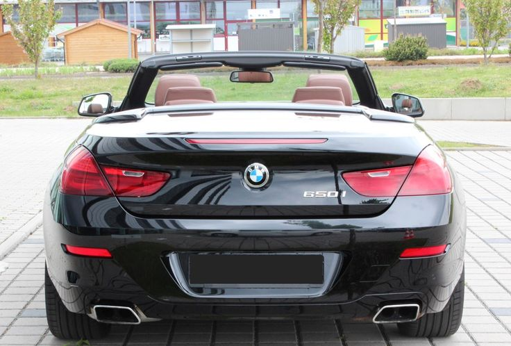 Rent BMW Series 6 Convertible (2011) starting from 121$ per day | Germany, Austria, Italy, Switzerland | #bmw #650i #series6 #convertible #cabrio #cabriolet #black #luxury #sports #car #cars #auto #automotive #sedan