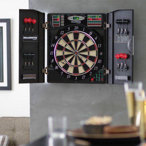 Bullshooter by Arachnid E-Bristle 1000 Electronic Dart Board - List price: $199.99 Price: $143.58 Saving: $56.41 (28%)