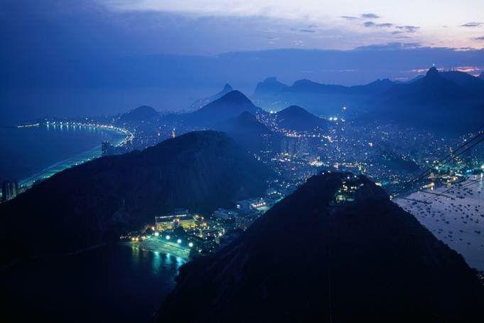Sugar Loaf Cable car, Rio de Janeiro Brazil