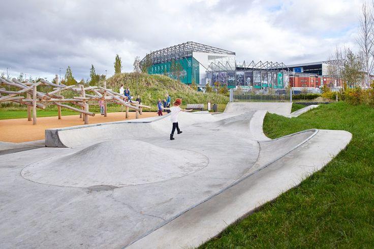 Barrowfield Park Camlachie Skate Park