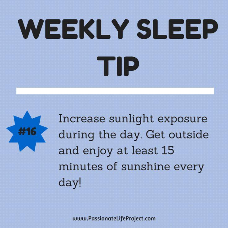 Sleep Tip #16