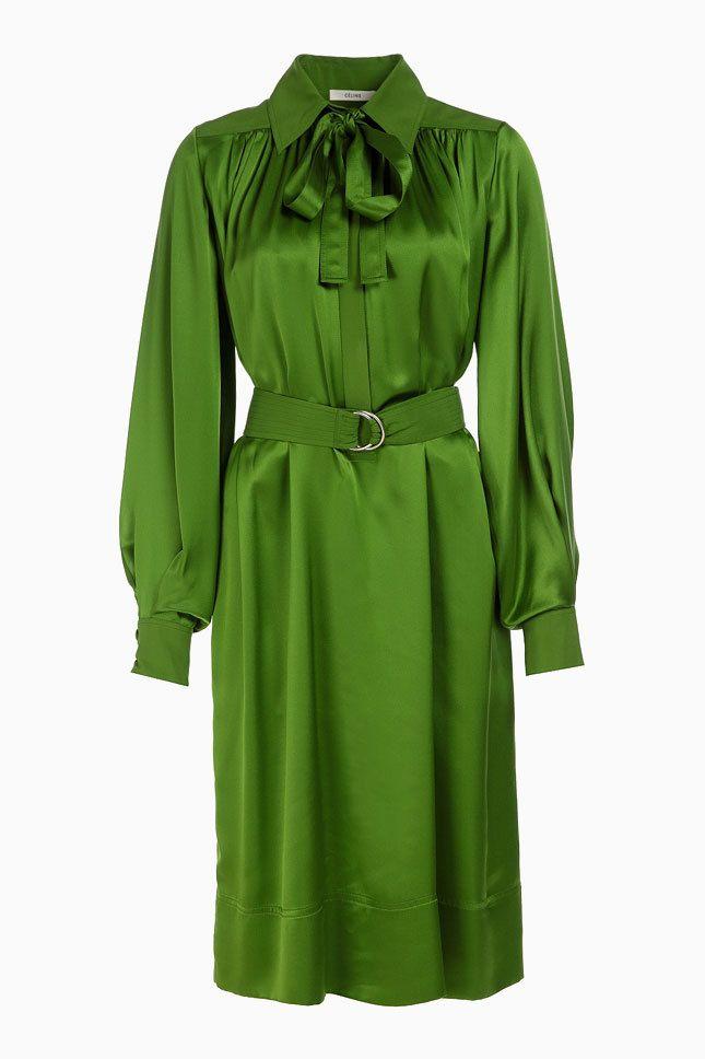 30 праздничных зеленых платьев | Мода | Выбор VOGUE | VOGUE