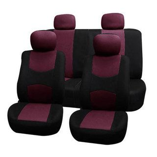@Overstock.com - FH Group Burgundy Full Set Fabric Auto Seat Covers - FH Group products are meticulously in house designed and produced by our experienced design team to meet your specific product needs and budget level.  http://www.overstock.com/Home-Garden/FH-Group-Burgundy-Full-Set-Fabric-Auto-Seat-Covers/8306375/product.html?CID=214117 $30.99