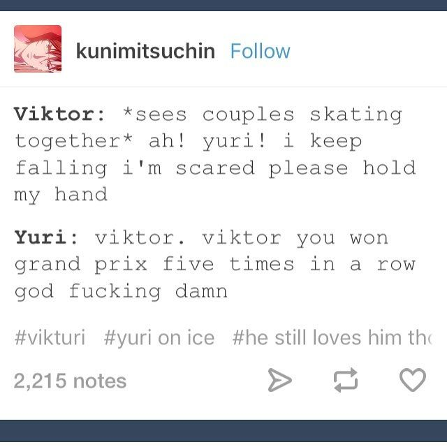 Kill me the new ep is out and I'm not home... currently trying to avoid spoilers aswell  #yurionice