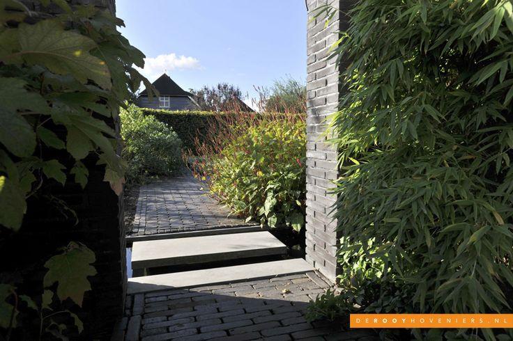 Tuin ideeën De Rooy Hoveniers bestrating bedrijfstuin Dussen