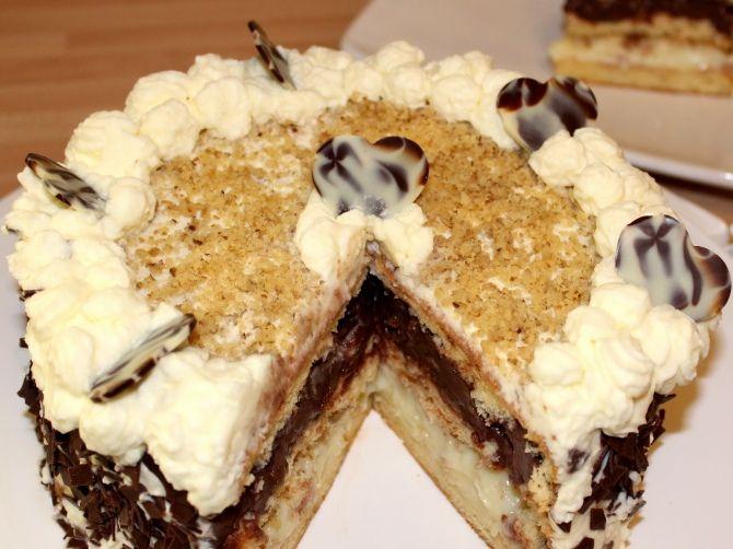 Somlói torta recept