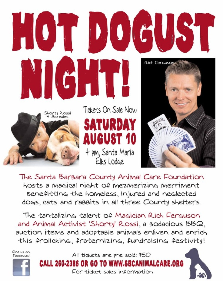 3rd Annual Hotdogust Night Event in coming up!! Tickets are on sale now!!!! http://www.eventbrite.com/event/6613072879#