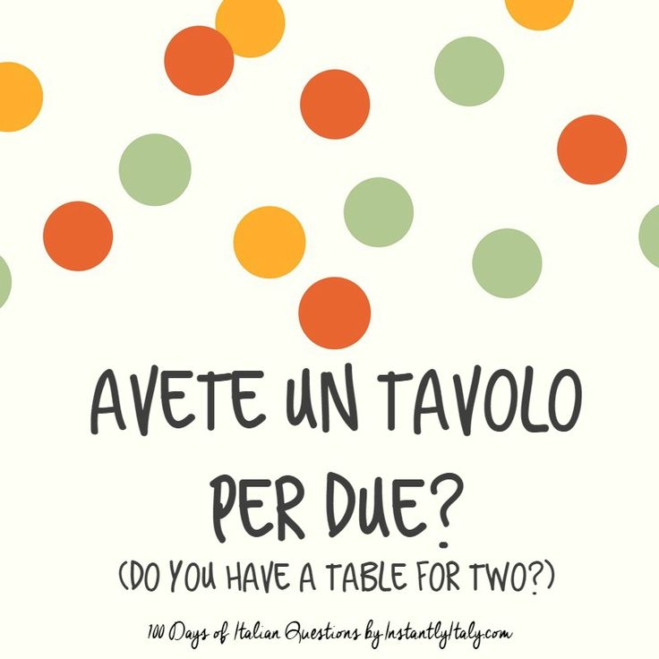 36/100 - 100 Days of Italian Questions on Instagram