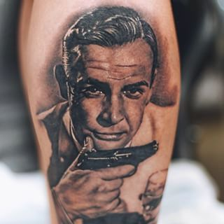 17 best images about pistool on pinterest pistols paige for Sean connery tattoos