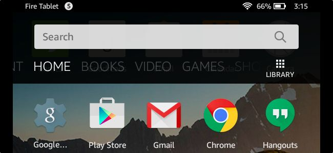 Amazon's Fire Tablet normally restricts you to the Amazon Appstore. But the Fire Tablet runs Fire OS, which is based on Android. You can install Google's Play Store and gain access to every Android app, includingGmail, Chrome, Google Maps, Hangouts, and the over one million apps in Google Play.