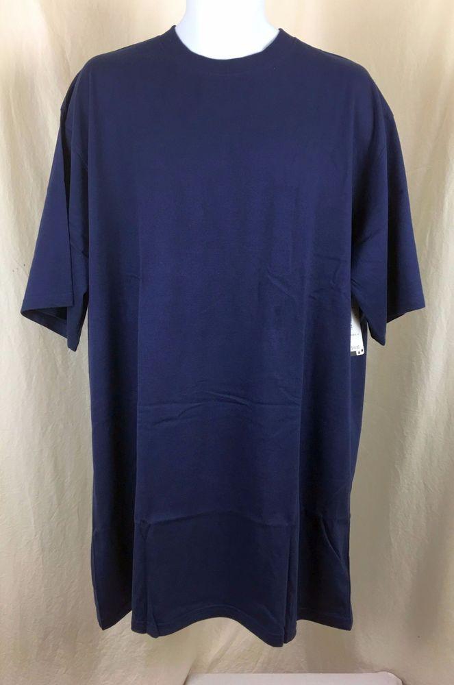 T-shirt 2-Pack  by Cascade sport Big & tall activewear Navy blue  XLT sizes #Cascadesport #BasicTee