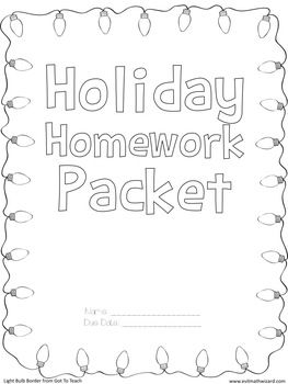 pin by beatriz ramirez on 3rd grade holiday homework homework teaching time. Black Bedroom Furniture Sets. Home Design Ideas