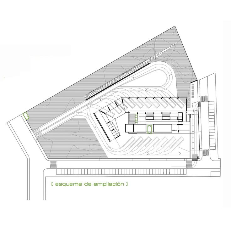 Galer a de estaci n de autobuses de trujillo ismo for Plan de arquitectura
