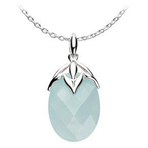 Kit Heath Blue Jade Palm Necklace