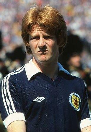 Gordon Strachan Scotland 1980