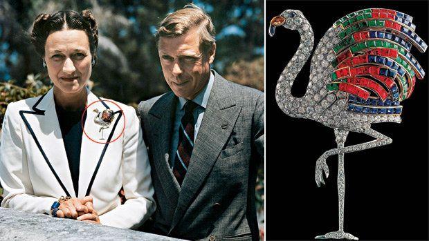 AS OVELHAS NEGRAS E O FLAMINGO - Wallis Simpson, a duquesa de Windsor, que fez o rei Eduardo VIII, da Inglaterra, abdicar por amor, era cliente assídua