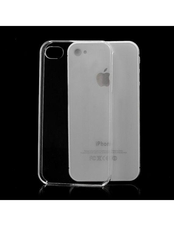 Σκληρή Θήκη για iPhone 4 4S - Διάφανο