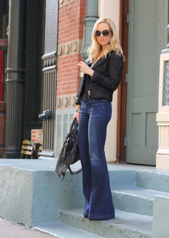 34 best images about Flare jeans on Pinterest   Blazers, Pants and ...