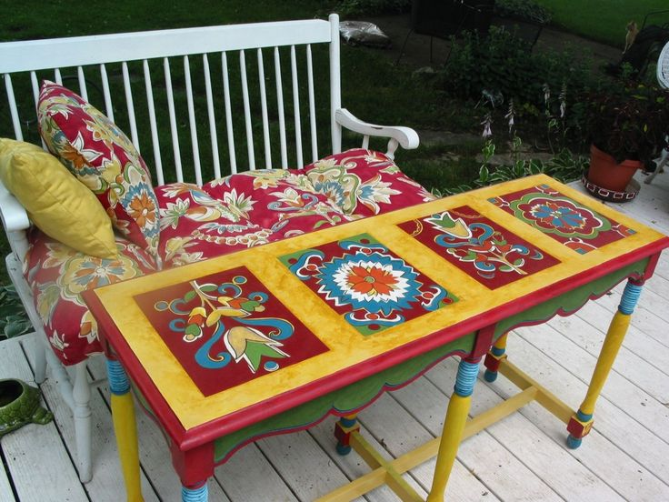 106 best furniture - painted tables images on pinterest | painted