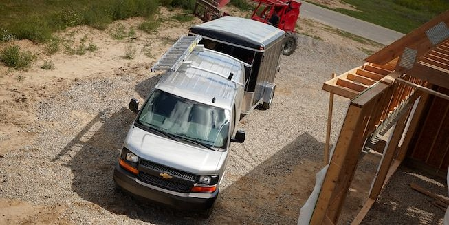 Chevrolet 2500 Extended Wheelbase Express Cargo Van Vortec 6.0L V8