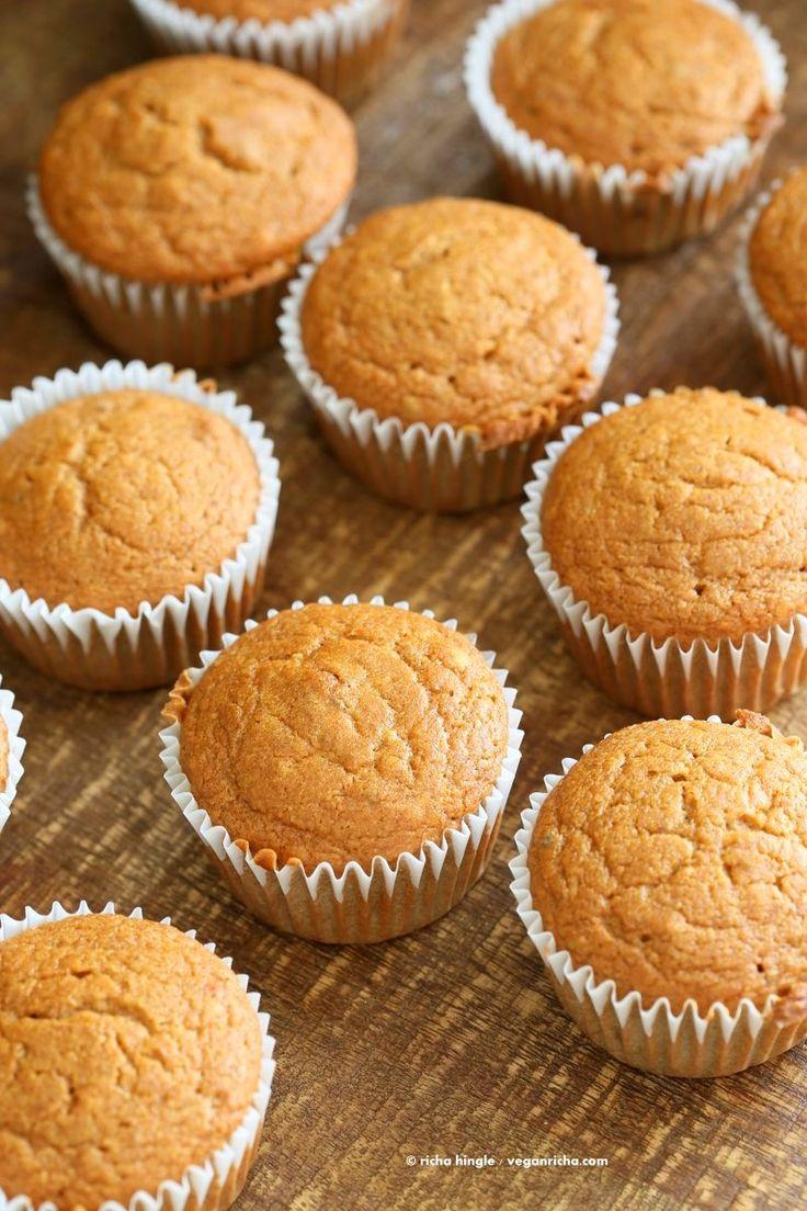 One Bowl Vegan Mango Cupcakes