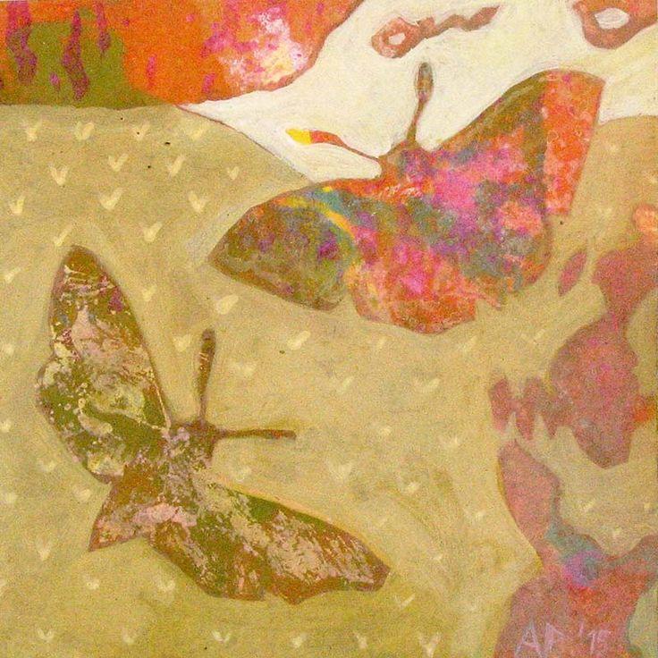 acrylic on paper 11x11cm