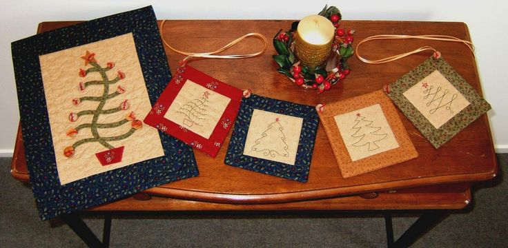Christmas Tree Swag and Wall Hanging – Tracey Roberts Designs