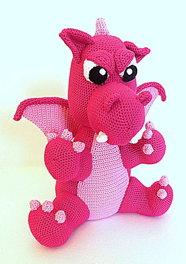 166 best Ami Drachen u. Dinos images on Pinterest | Amigurumi ...