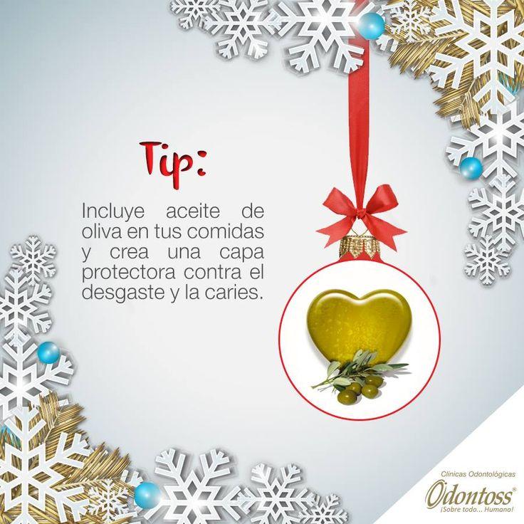 Esta navidad agrega un poco de aceite de oliva y recibe grandes beneficios a tu dentadura.