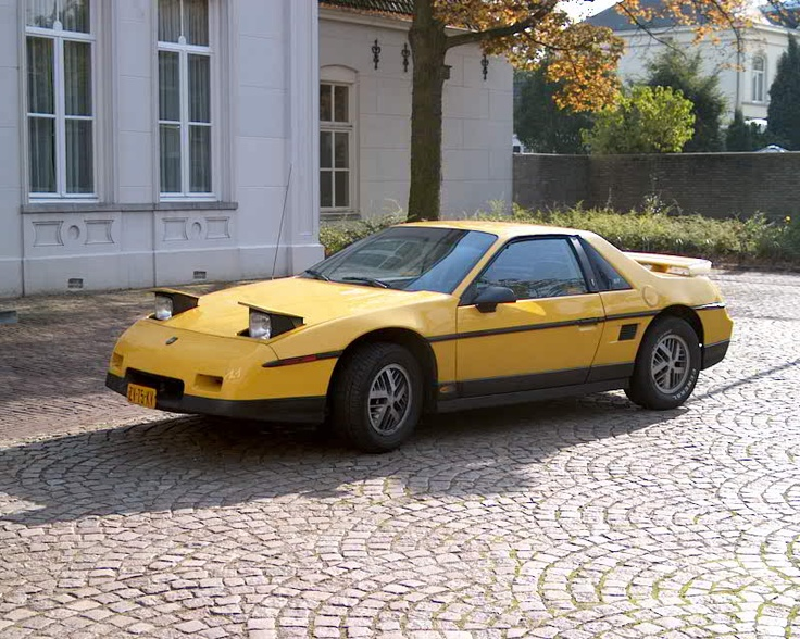 1985 Pontiac Fiero Gt Related Infomation Specifications