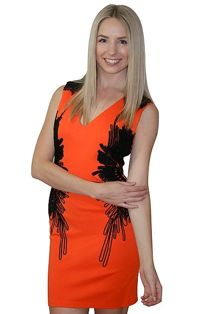 Elliatt Feather Flock Dress » online clothing shop with top fashion brand dresses, tops, skirts, jackets for women.