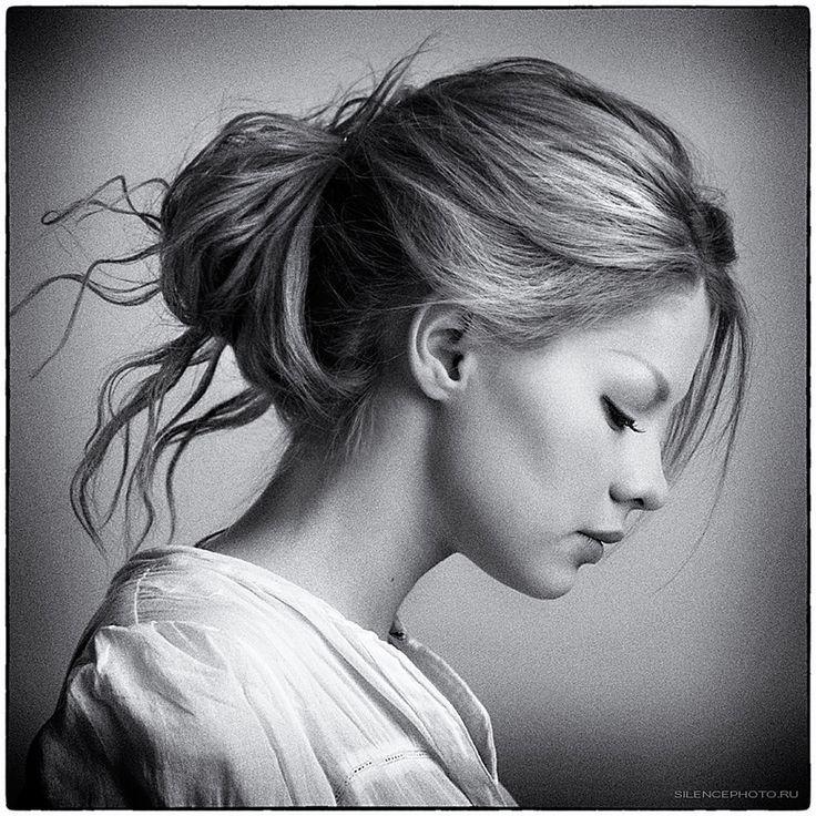 Side Profile Portraits Photographs - Google Search
