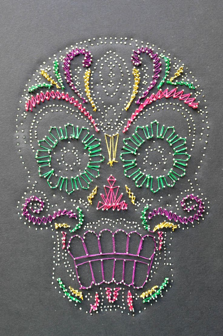 123 best String Art! images on Pinterest | Spikes, String art and ...