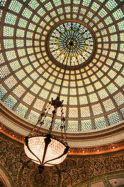 Tiffany Dome at the Chicago Cultural Center