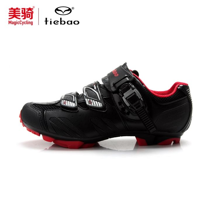 61.88$  Watch here - http://ali777.worldwells.pw/go.php?t=32743375441 - Tiebao Men MTB Mountain Bike Shoes Bicycle Cycling Shoes Self-Locking Nylon-Fibreglass Sole Shoes Sneakers zapatos ciclismo