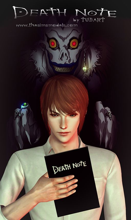 Accessory Death Note By TUDART Sims 3 Downloads CC