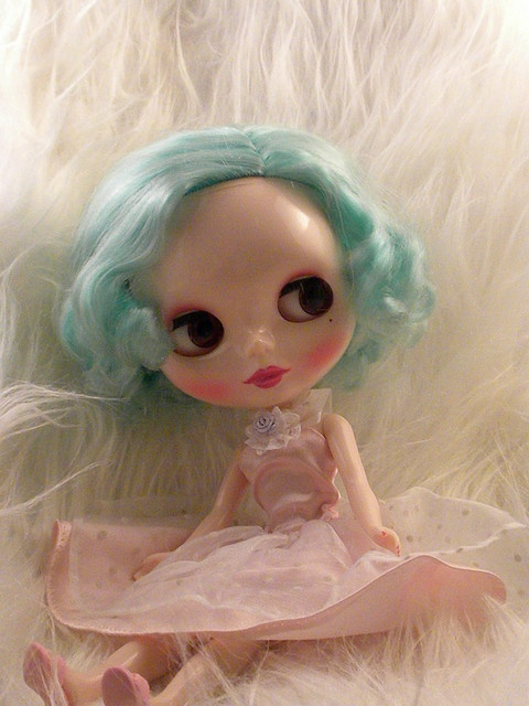 Pretty in Pink..vintage style blythe